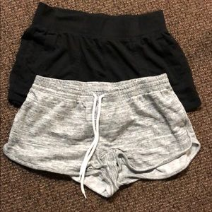 Pants - A Bundle with Black and Grey Lounge Shorts